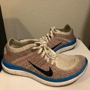 Nike Free Flyknit 4.0 US7 athletic shoes sneaker